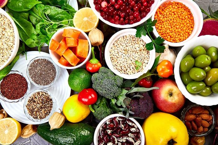 Gesunde Ernährung bei Haarausfall