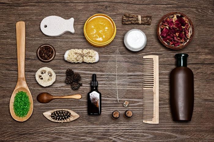 Hausmittel für natürliche Haarpflege