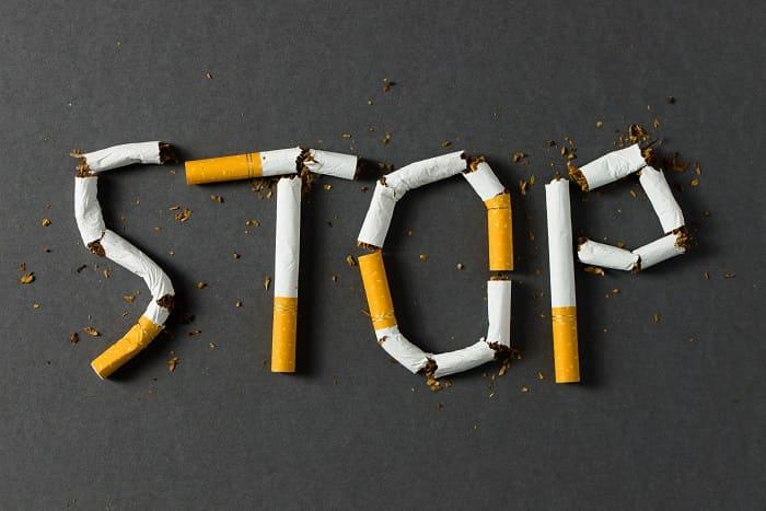 Haarausfall - mit dem Rauchen aufhören